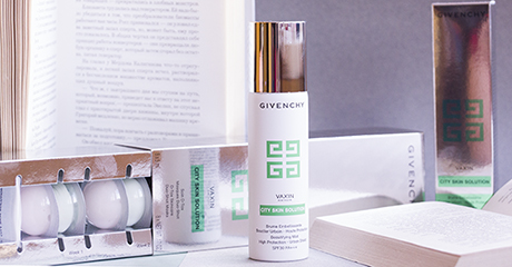 Защита кожи от Givenchy: новинки VAX`IN For Youth City Skin Solution