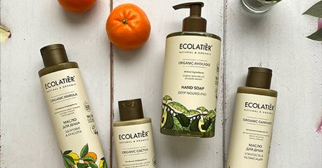 Новая линия ECOLATIER Оrganic Beauty Series